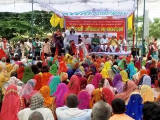 adivasi yatra up